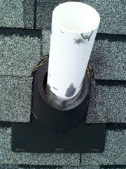 Norcross's Best Gutter Cleaners' Certainteed Certified roofers can replace your cracked and rotted vent boots.
