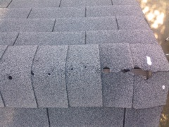 Norcross's Best Gutter Cleaners' Certainteed Certified roofers can replace cracked ridgecaps.