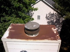 Norcross's Best Gutter Cleaners' Certainteed Certified roofers can install or replace your custom chimney pan.